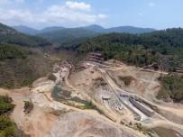 ORMAN VE SU İŞLERİ BAKANLIĞI - Alanya Yeniköy Barajı'nda Çalışmalar Sürüyor