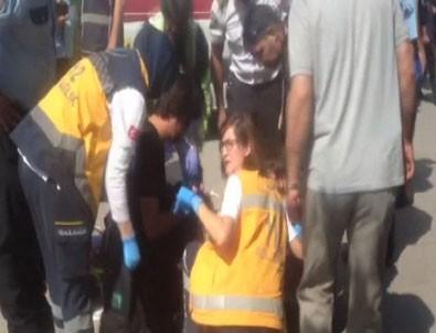 Ankara Adliyesi önünde bıçaklı kavga: 1'i çocuk 3 yaralı