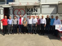 Arsin OSB'de Düzenlenen Kan Bağışı İlgi Gördü
