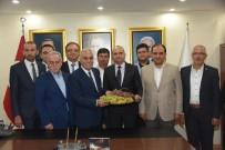 İL BAŞKANLARI - Bakan Fakıbaba Partisinin Manisa İl Yönetim Toplantısına Katıldı