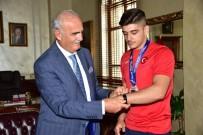 Başkan Yılmaz Açıklaması 'Samsun Güreşin Başkenti'