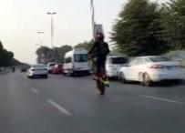 BOSTANCı - Bu Da Motosikletli Maganda
