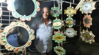 Burhaniye'de Ören Sahilindeki Deniz Kabukları Sanat Eseri Oldu