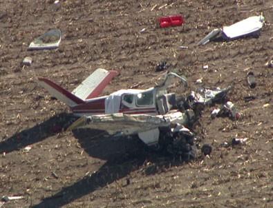 Fransa'nın Korsika Adası'nda küçük uçak düştü: 4 ölü
