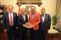 KıRKPıNAR - Hisarcıklıoğlu'ndan Başkan Gürkan'a Ziyaret
