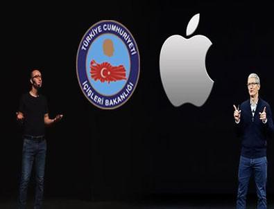 İçişleri Bakanlığı, Apple'a rakip oldu