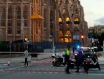 BARCELONA - İspanya'da sıcak dakikalar! Bölge ablukaya alındı
