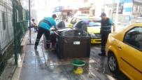 YÜRÜYÜŞ YOLU - İzmit'te 24 Saat Temizlik Yapılıyor