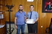 KıLıÇARSLAN - Kavgada Yaralanan Polise Başarı Belgesi Verildi