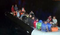 DAVUTLAR - Kuşadası'nda Yakalanan İnsan Kaçakçısı Alman Uyruklu Çıktı