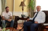 TESBIH - Milli Atlet Guliyev, Vali Azizoğlu'nu Makamında Ziyaret Etti
