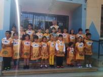 ZEYTİN AĞACI - Minik Öğrenciler Yeni Eğitim-Öğretim Yılına Zeytin Ağacı Dikerek Başladı