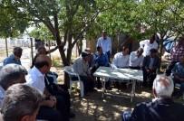 KURU FASULYE - Müdür Asak'tan Köy Ziyaretleri
