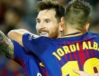 MİLLİ FUTBOLCU - Neymar'sız Barça ezdi geçti!