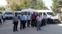 HELAL - Servisçilerden 'Rüşvete Hayır' Eylemi