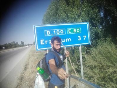 Survivor'a katılmak için bin 500 kilometre yürüyecek