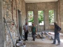 TARİHİ BİNA - Tarihi İskenderun Adliyesi'nde Restorasyon Çalışmaları Sürüyor