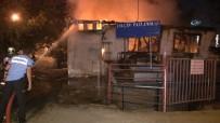 Tarihi Sobacılar Çarşısı'nda Korkutan Yangın