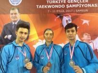 KAĞıTSPOR - Türkiye Tekvando  Şampiyonasında Kağıtspor'a 3 Madalya