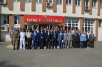 SEDDAR YAVUZ - Vali Yavuz Fatsa'da İncelemelerde Bulundu