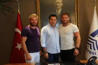 KıRKPıNAR - 2017 Kırkpınar Başpehlivanından Başkan Kocadon'a Ziyaret