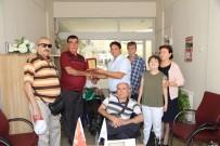 TEKERLEKLİ SANDALYE BASKETBOL - Aydınlı Engellilerden Efeler Belediyesine Teşekkür Ziyareti