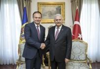 PARLAMENTO - Başbakan Yıldırım, Moldova Parlamento Başkanı Candu İle Görüştü