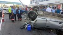 SÜPERMARKET - Başkent'te Zincirleme Kaza Açıklaması 1'İ Ağır 5 Yaralı