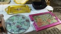 Burhaniye'de Karı Kocanın Eserleri İlgi Gördü