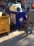 ÇAMAŞIR MAKİNESİ - Geri Dönüşüme Bozuk Çamaşır Makinesini Attı