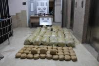 KALAŞNIKOF - Hakkari'de 703 Kilo 560 Gram Toz Esrar Ele Geçirildi