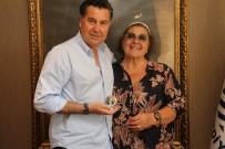 BODRUM BELEDİYESİ - İsmet Sezgin'in Kızı Ayşe Sezgin'den Başkan Kocadon'a Ziyaret