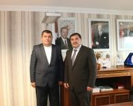 KıRKPıNAR - Kırkpınar Ağası Çetin, TGF Başkanı Akın'ı Ziyaret Etti