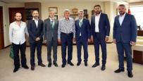 FUTBOL TAKIMI - Kocaelispor'dan Başkan Karaosmanoğlu'na Ziyaret