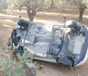 Milas'ta Trafik Kazası; 2 Yaralı