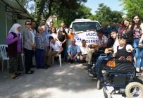YANGIN FACİASI - Muğla Engelliler Derneği'nden Zeytinköy'e Yardım Eli