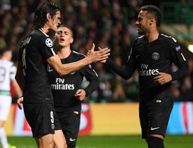 Neymar'lı PSG Celtic'i 5'ledi