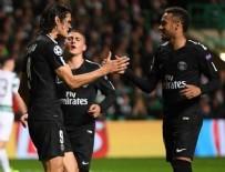 KENDİ KALESİNE - Neymar'lı PSG Celtic'i 5'ledi