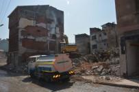 ORTAHISAR - Pazarkapı'da 32 Binanın Yıkımına Başlandı