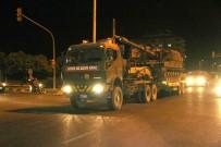 KOMANDO - Suriye Sınırına Topçu Bataryası İle Komando Birliği Sevki