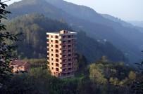 HALUK PEKŞEN - Trabzon'da Sosyal Medyada Gündem Olan 9 Katlı Binada Gerçek Ortaya Çıktı