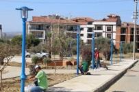 ELEKTRİK DİREĞİ - Turgutlu'nun Yeni Yaşam Alanı Işıl Işıl Oluyor