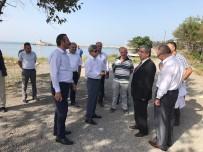ZONGULDAK VALİSİ - Vali Çınar Manolya Parkta İncelemelerde Bulundu