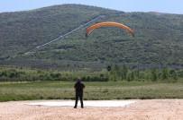 GÖKYÜZÜ - Yamaç Paraşütü Meraklıları Nilüfer'de Buluşuyor