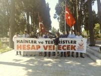 EDIRNEKAPı - 15 Temmuz Gazileri CHP'li Sezgin Tanrıkulu'nu Protesto Etti
