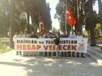 EDIRNEKAPı - 15 Temmuz Gazileri Sezgin Tanrıkulu'nu Protesto Etti