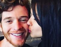 INSTAGRAM - Adriana Lima'dan Metin Hara'ya aşk öpücüğü!