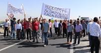 ÖLÜMLÜ - Aksaray'da Köy Halkı Karayolunu Trafiğe Kapattı