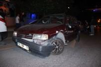 ATATÜRK BULVARI - Alkollü Sürücü Zincirleme Kazaya Yol Açtı