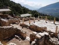 ROMA DÖNEMİ - Antalya'da bin 700 yıl öncesine ait 8 odalı villa kalıntısı bulundu